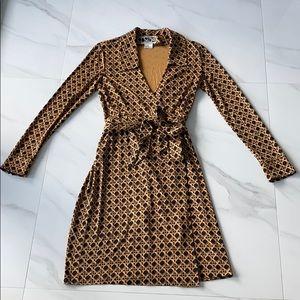 Vintage Diane Von Furstenburg Wrap Dress